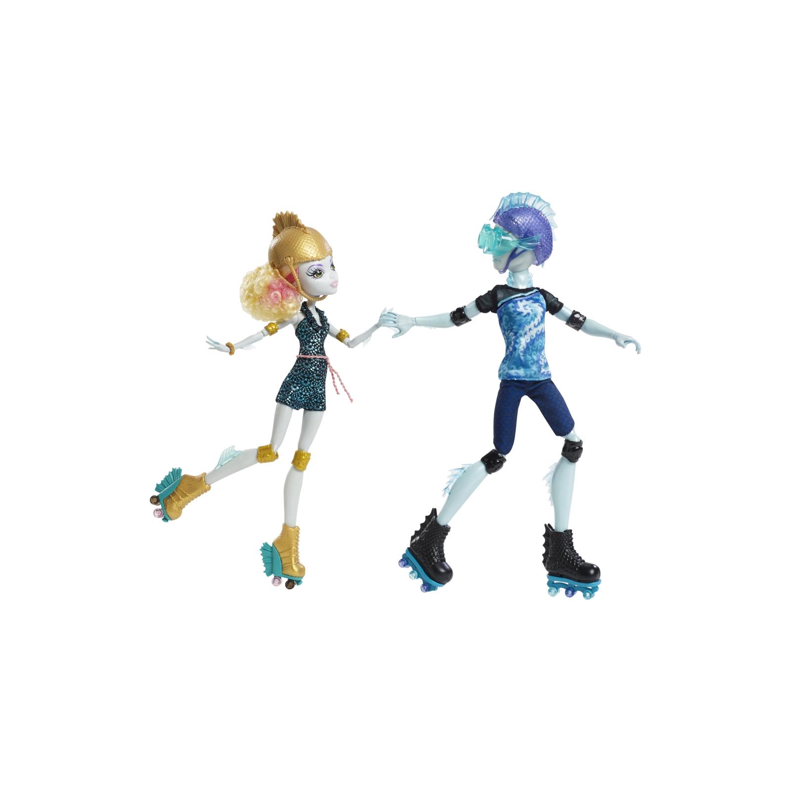 Кукла Mattel Лагуна и Гил Роликовая любовь (CJC47) изображение 2
