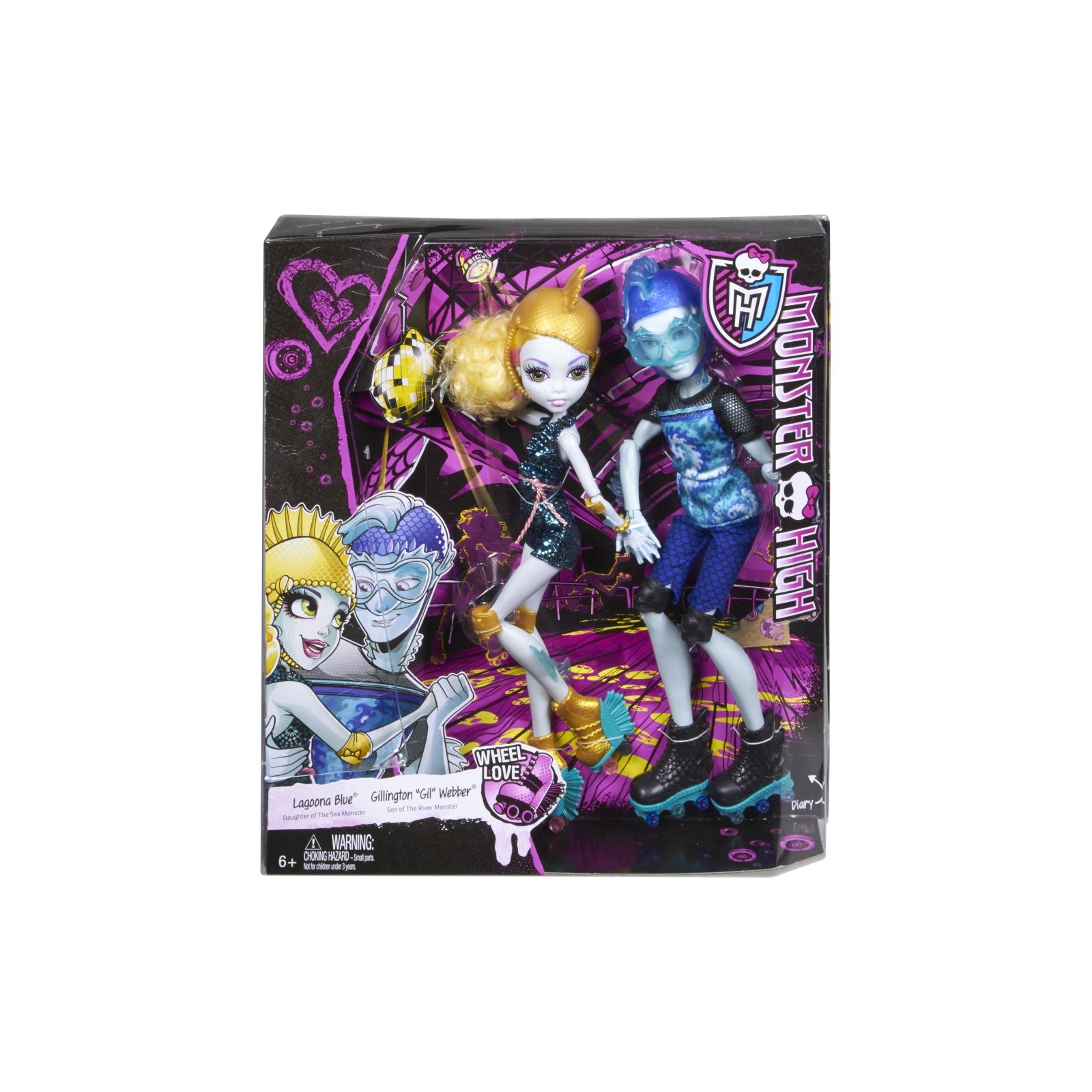 Кукла Mattel Лагуна и Гил Роликовая любовь (CJC47) изображение 8