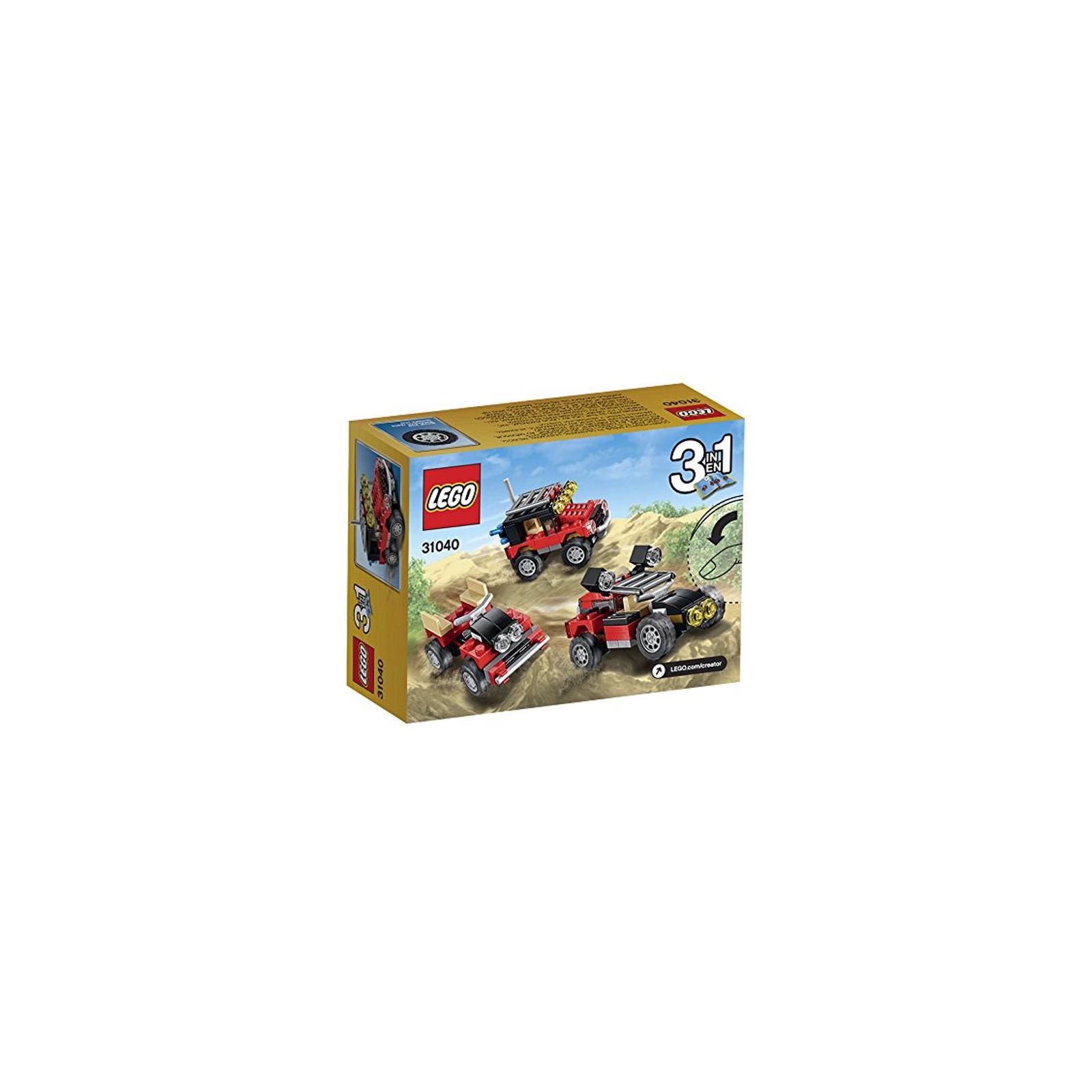 Конструктор LEGO Creator Гонки в пустыне (31040) изображение 6