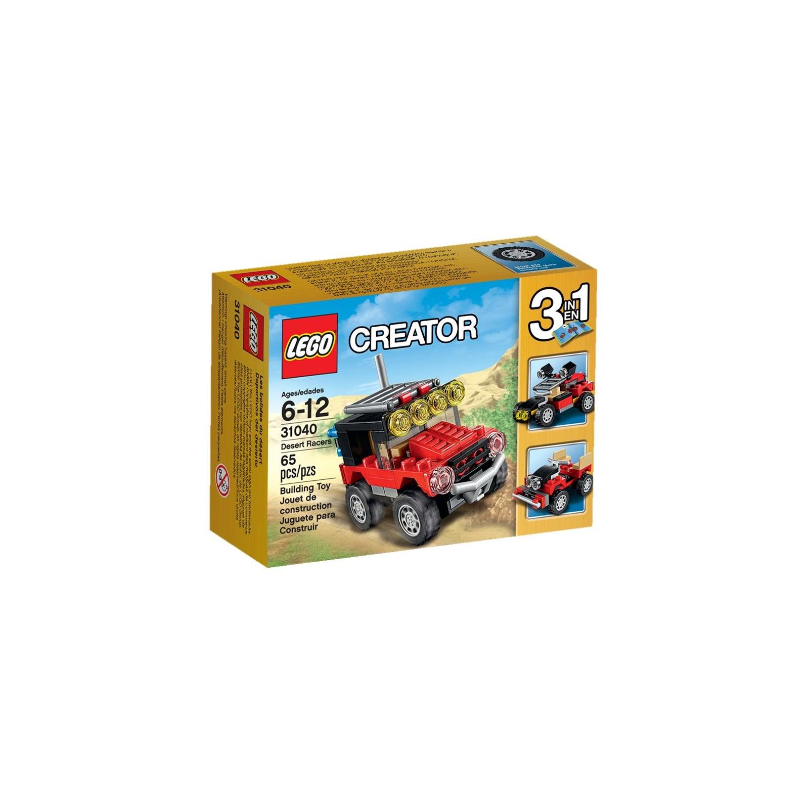Конструктор LEGO Creator Гонки в пустыне (31040)