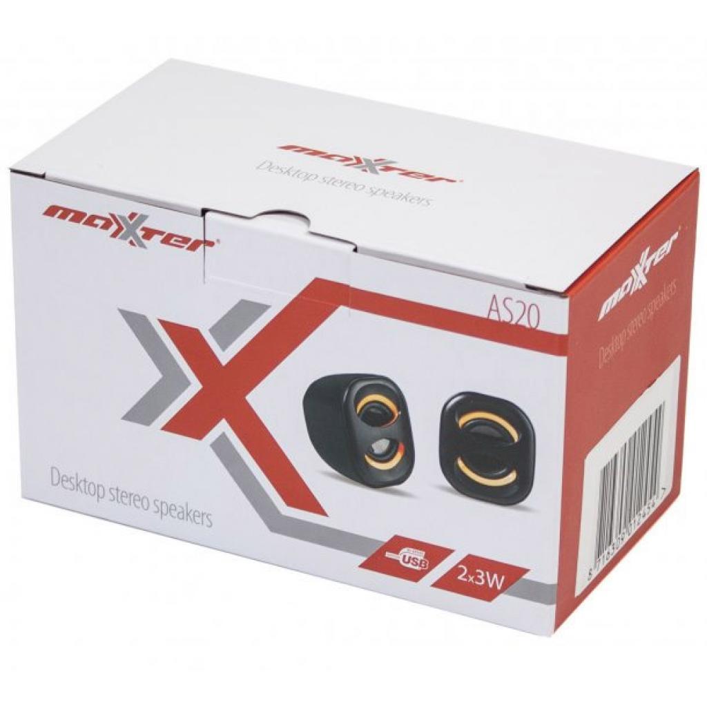 Акустическая система Maxxter AS20R изображение 2