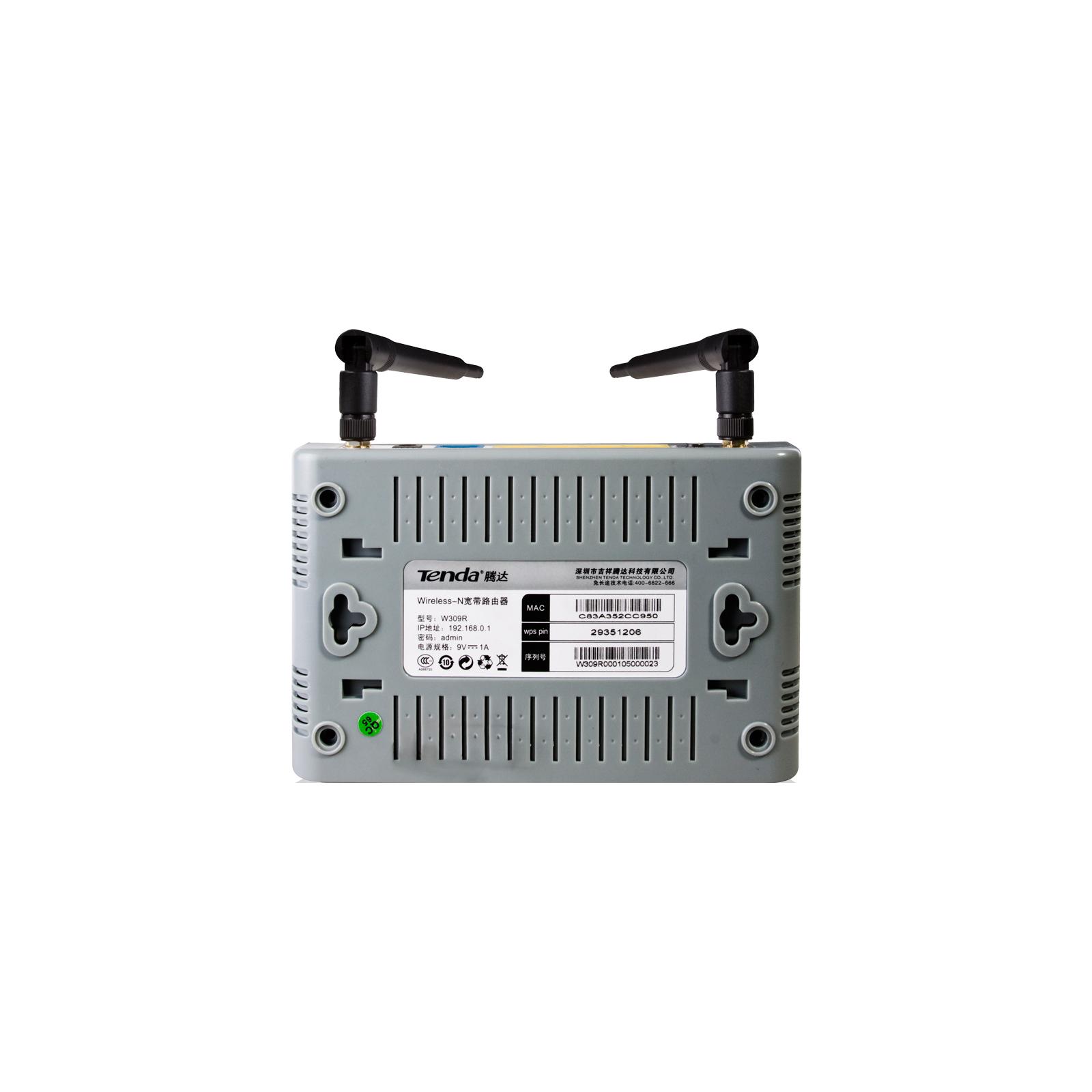 Маршрутизатор TENDA W309R+ изображение 6