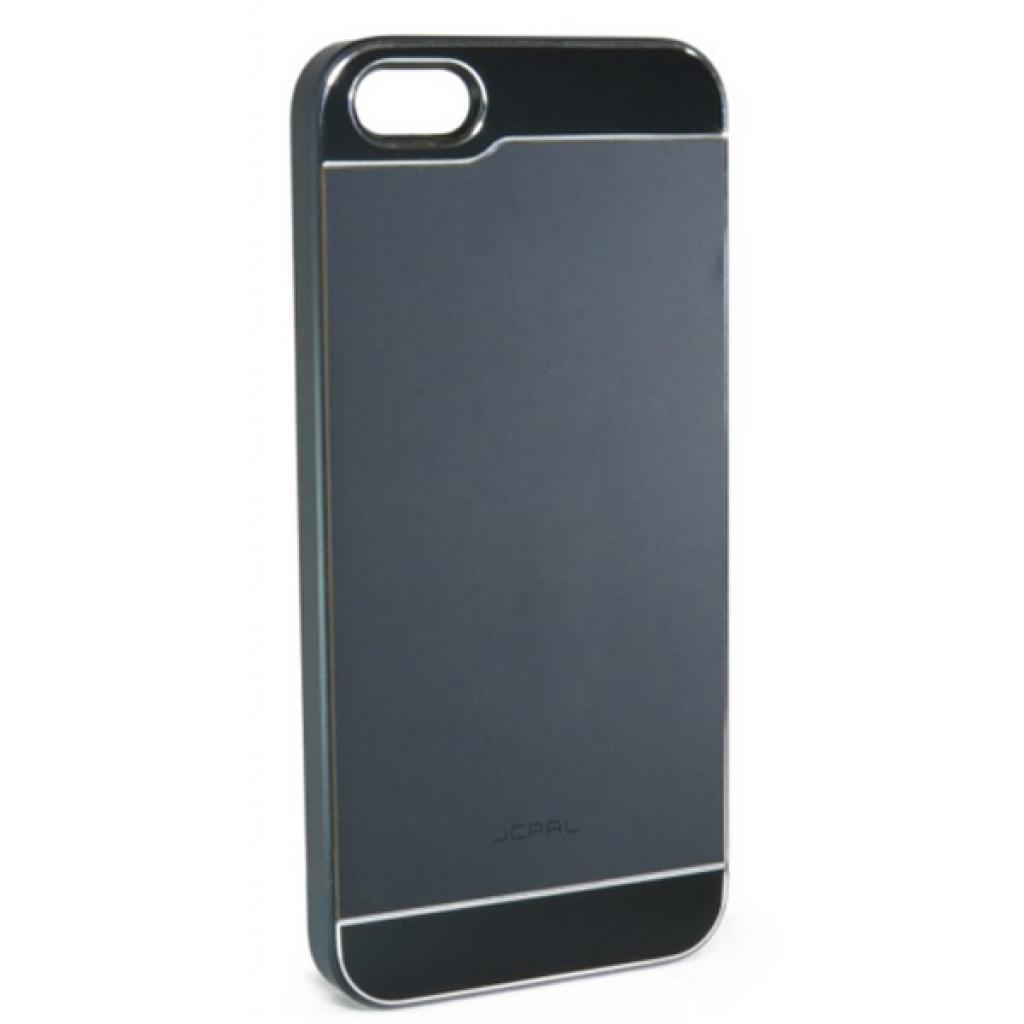 Чехол для моб. телефона JCPAL Aluminium для iPhone 5S/5 (Smooth touch-Black) (JCP3105)