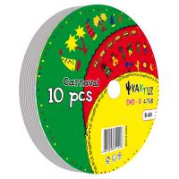 Диск DVD-R KAKTUZ 4.7GB 16X Bulk 10 pcs (907753RKAF)