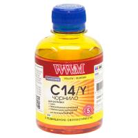 Чернила WWM CANON CLI-451/CLI-471 200г Yellow (C14/Y)