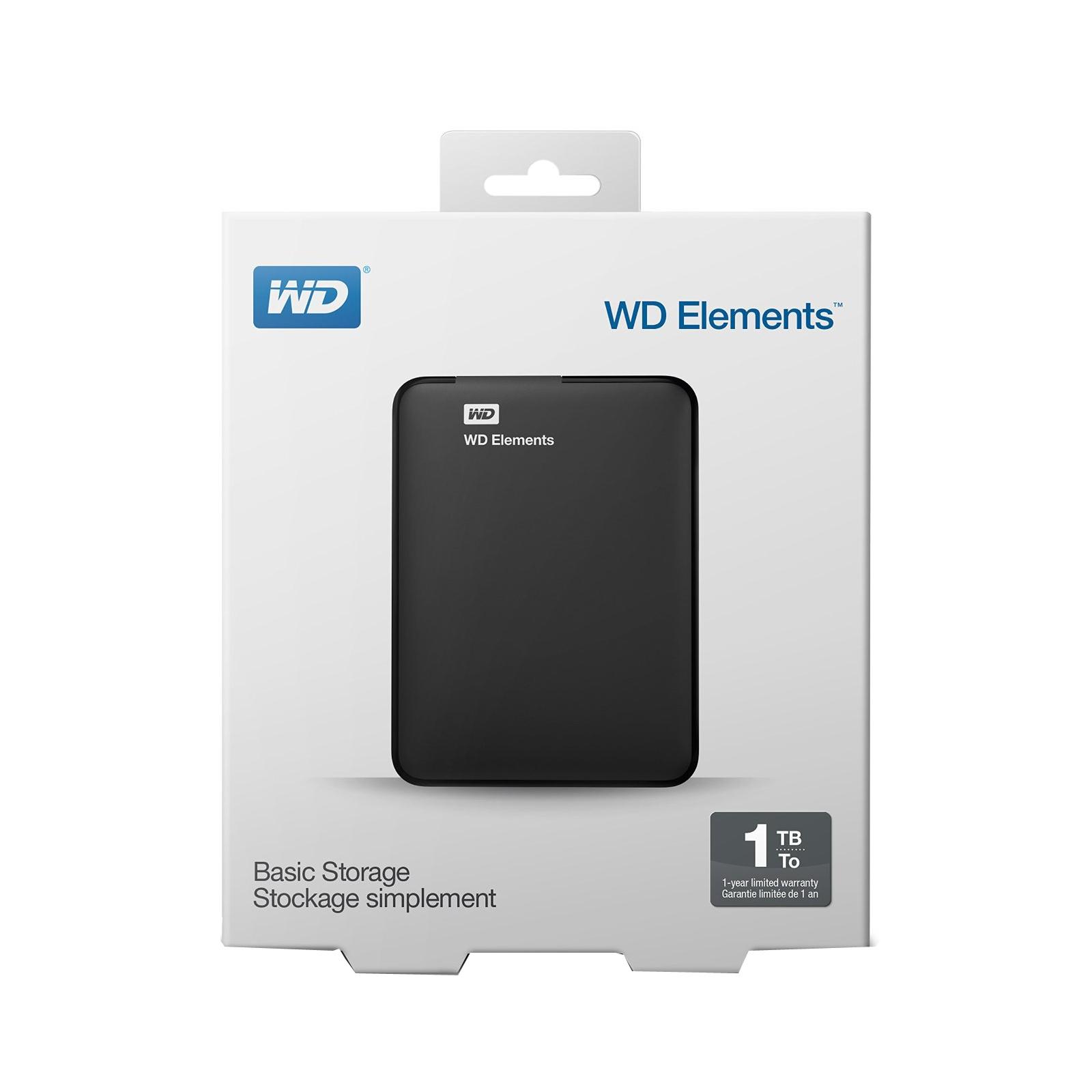 """Внешний жесткий диск 2.5"""" 500GB WD (WDBUZG5000ABK-WESN) изображение 6"""