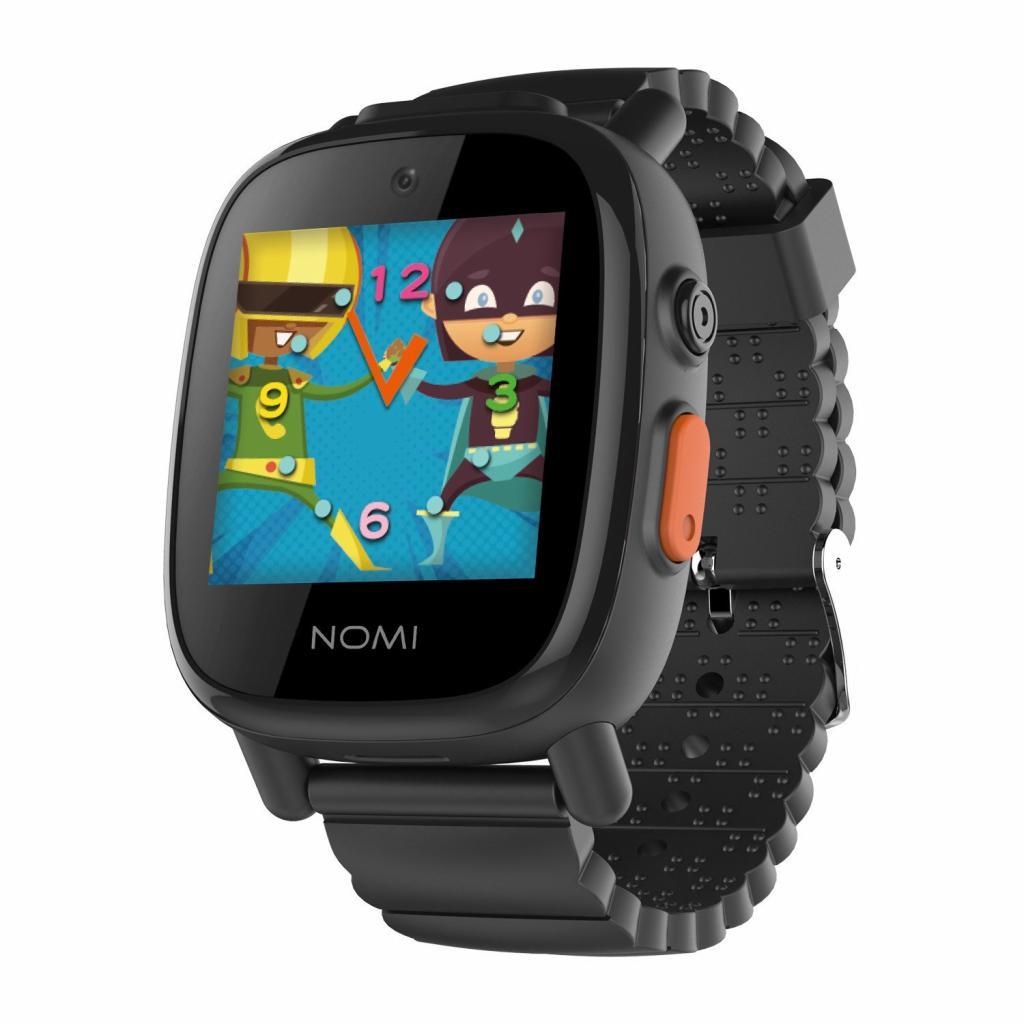 4961c52c6207 Смарт-часы Nomi Kids Heroes W2 Black цены в Киеве и Украине - купить ...