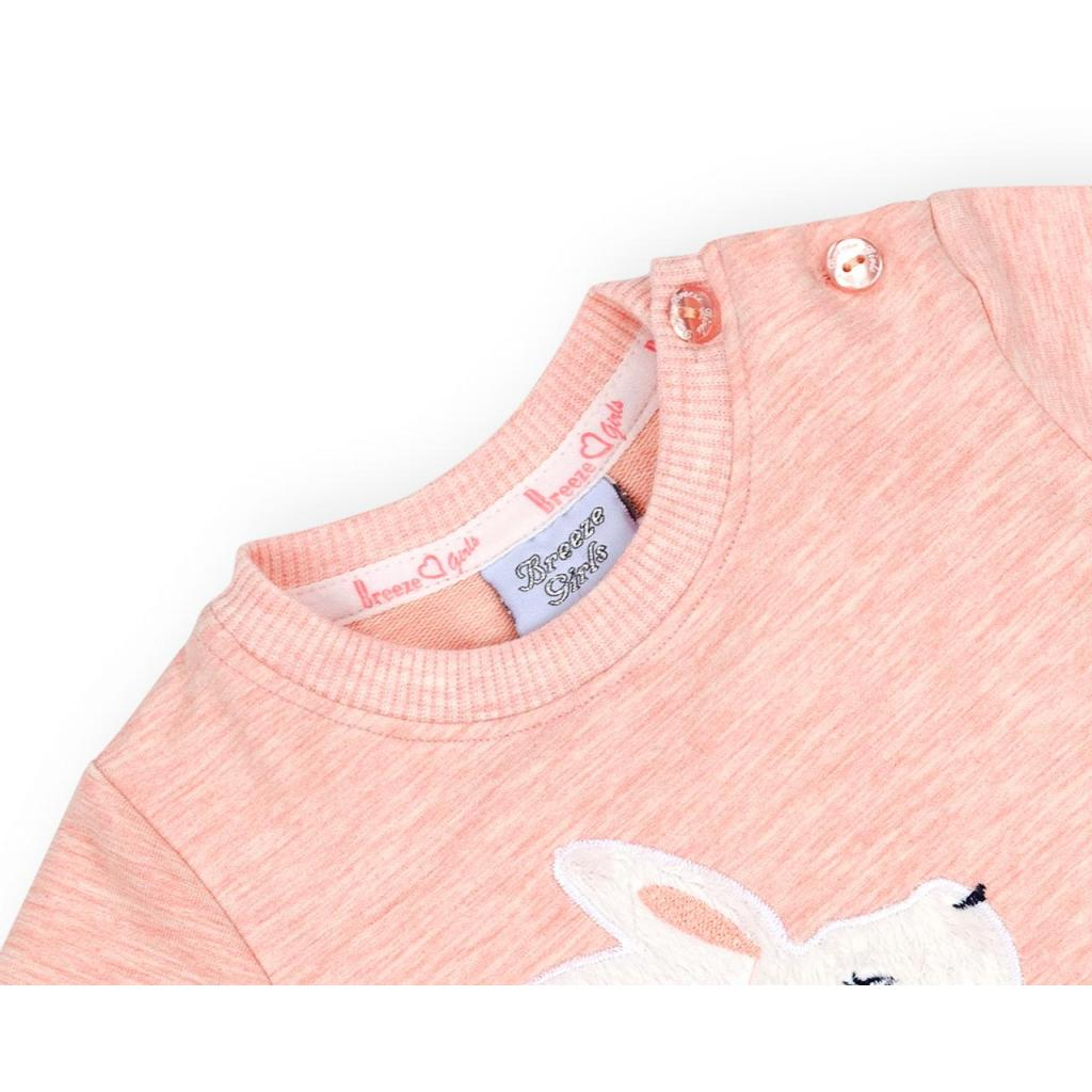 Набор детской одежды Breeze с зайчиками (10214-98G-peach) изображение 7