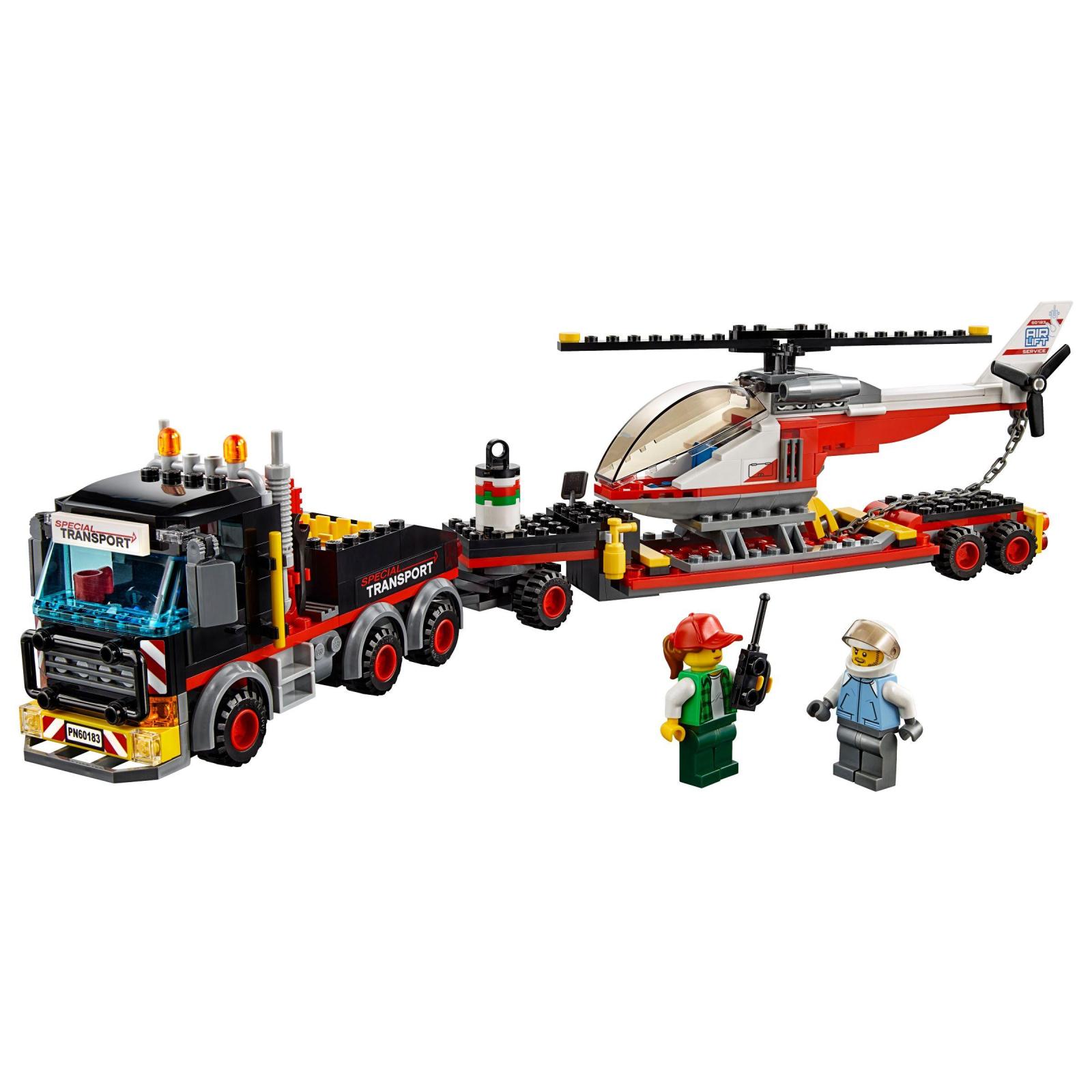 Конструктор LEGO City Перевозка тяжелых грузов (60183) изображение 2