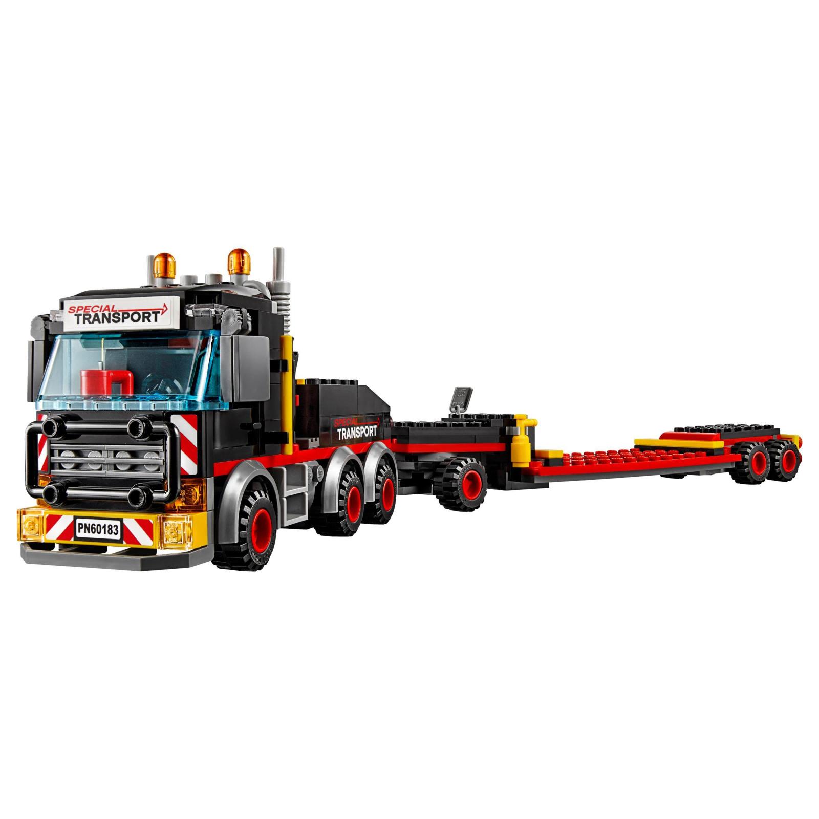 Конструктор LEGO City Перевозка тяжелых грузов (60183) изображение 3