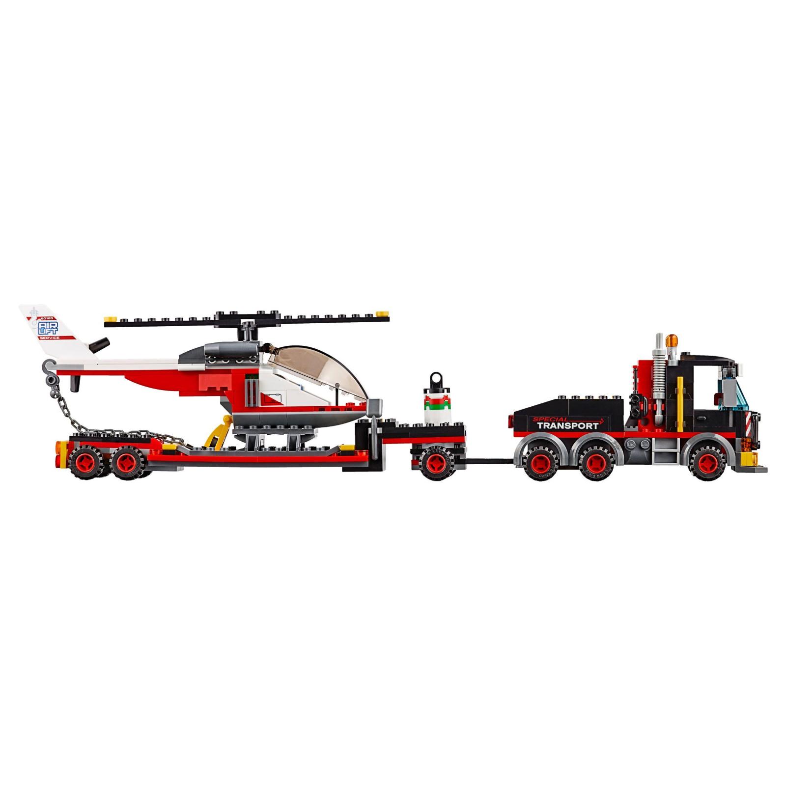 Конструктор LEGO City Перевозка тяжелых грузов (60183) изображение 4
