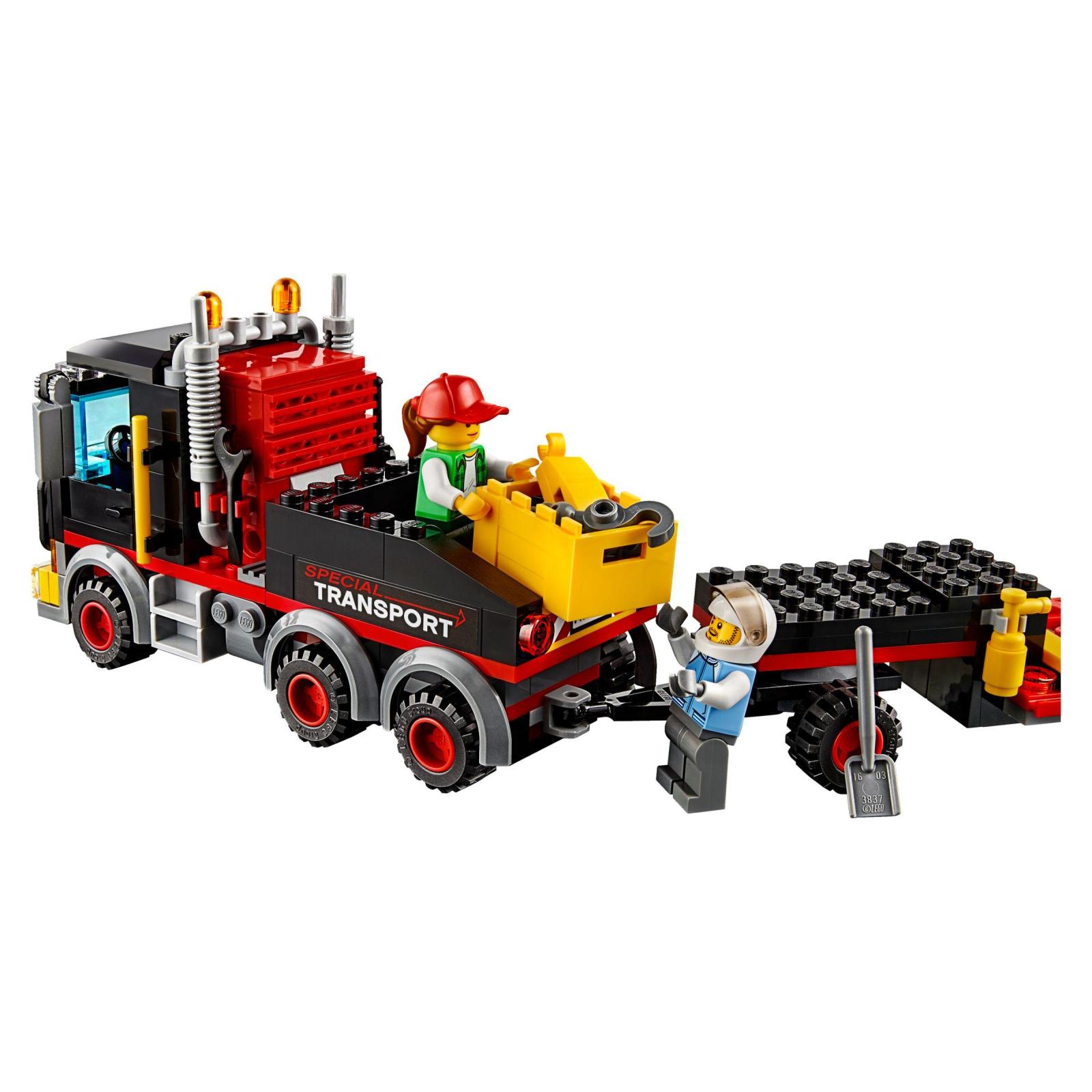 Конструктор LEGO City Перевозка тяжелых грузов (60183) изображение 5