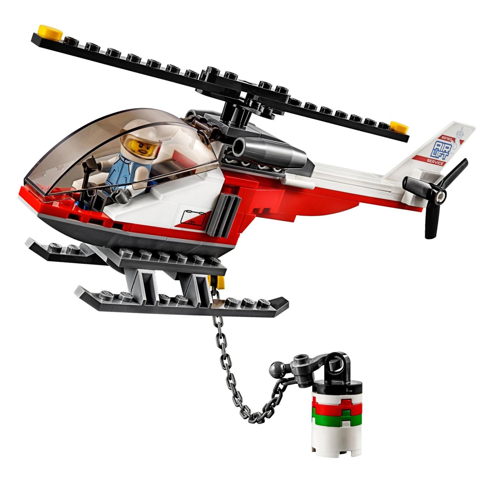 Конструктор LEGO City Перевозка тяжелых грузов (60183) изображение 6