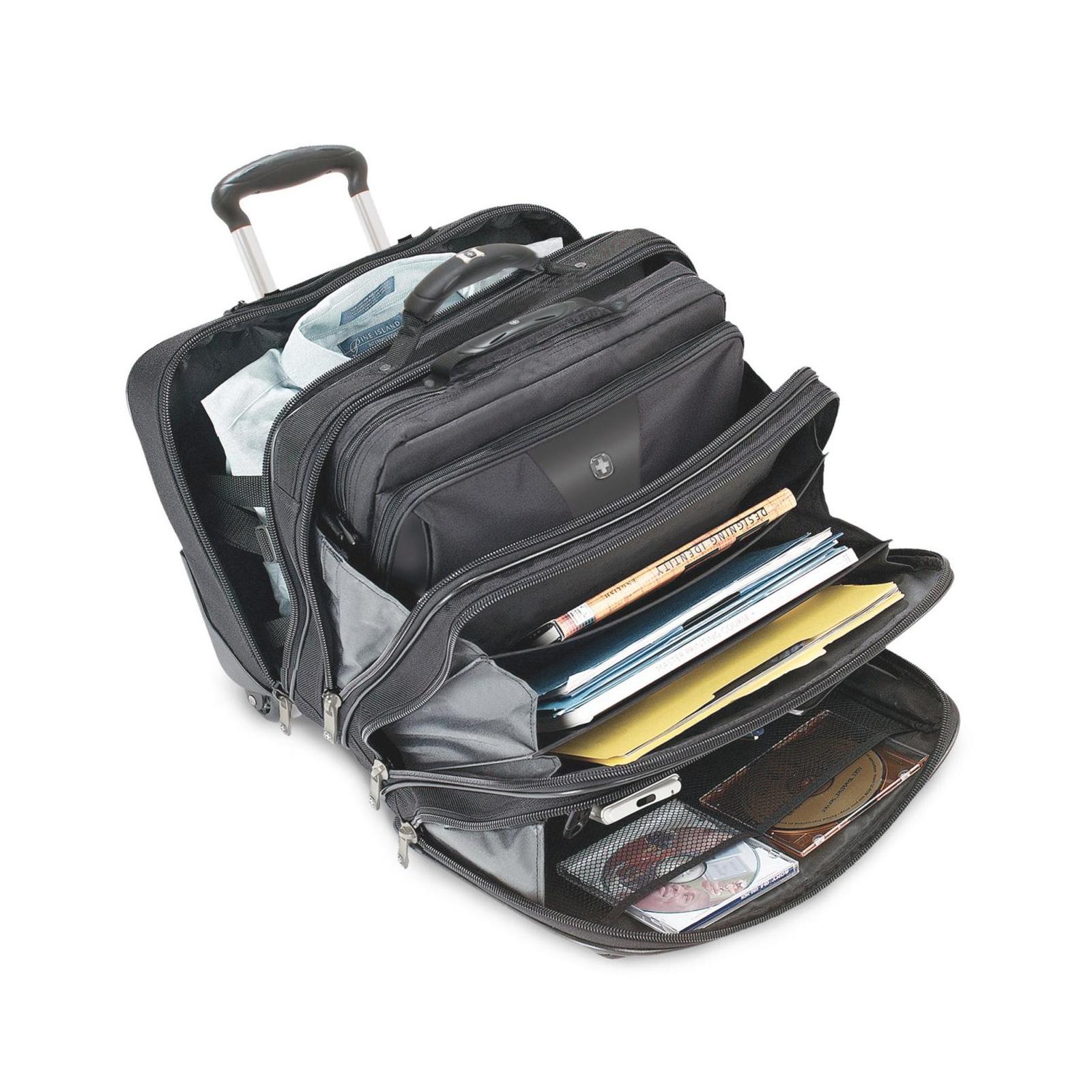 Сумка дорожная Wenger Patriot 2 Pc Wheeled Laptop Case (600662) изображение 2