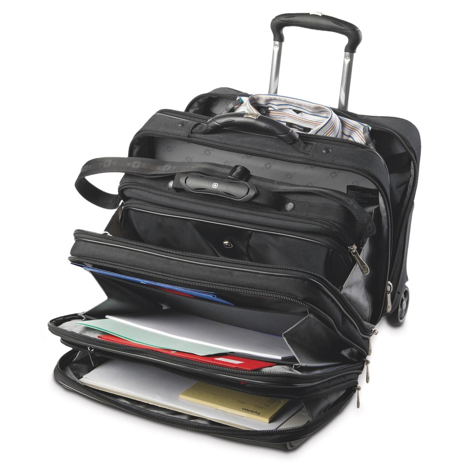 Сумка дорожная Wenger Patriot 2 Pc Wheeled Laptop Case (600662) изображение 3