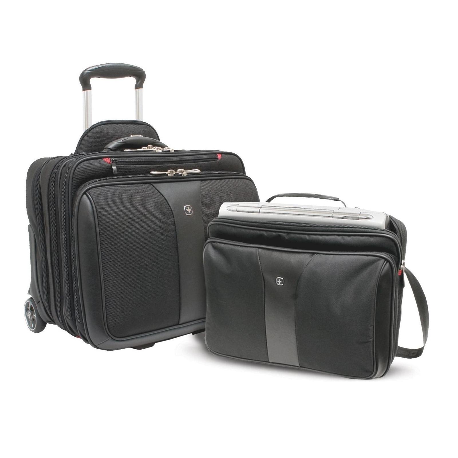 Сумка дорожная Wenger Patriot 2 Pc Wheeled Laptop Case (600662) изображение 5