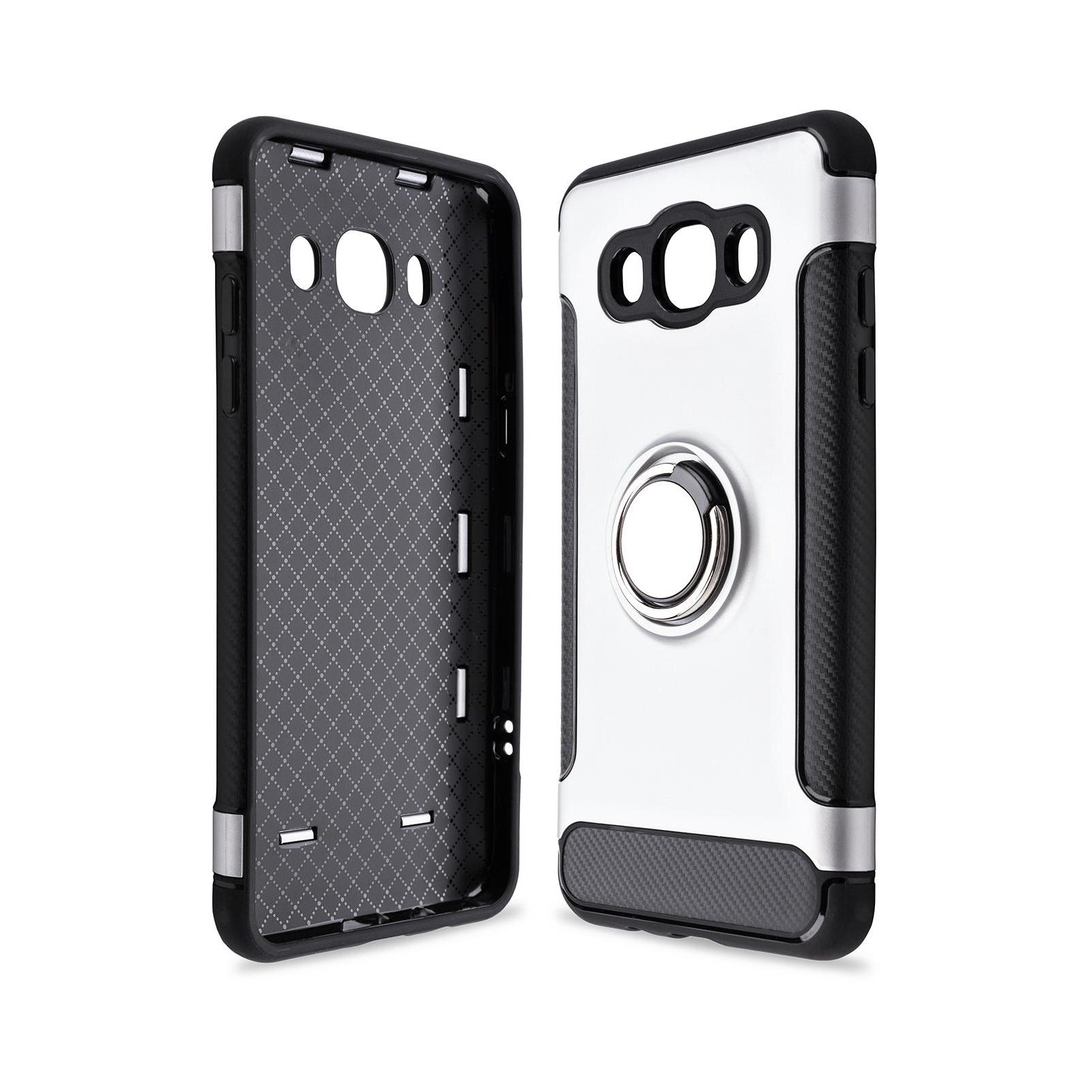 Чехол для моб. телефона Laudtec для Samsung J5 2016/J510 Ring stand (silver) (LR-J510-SR)