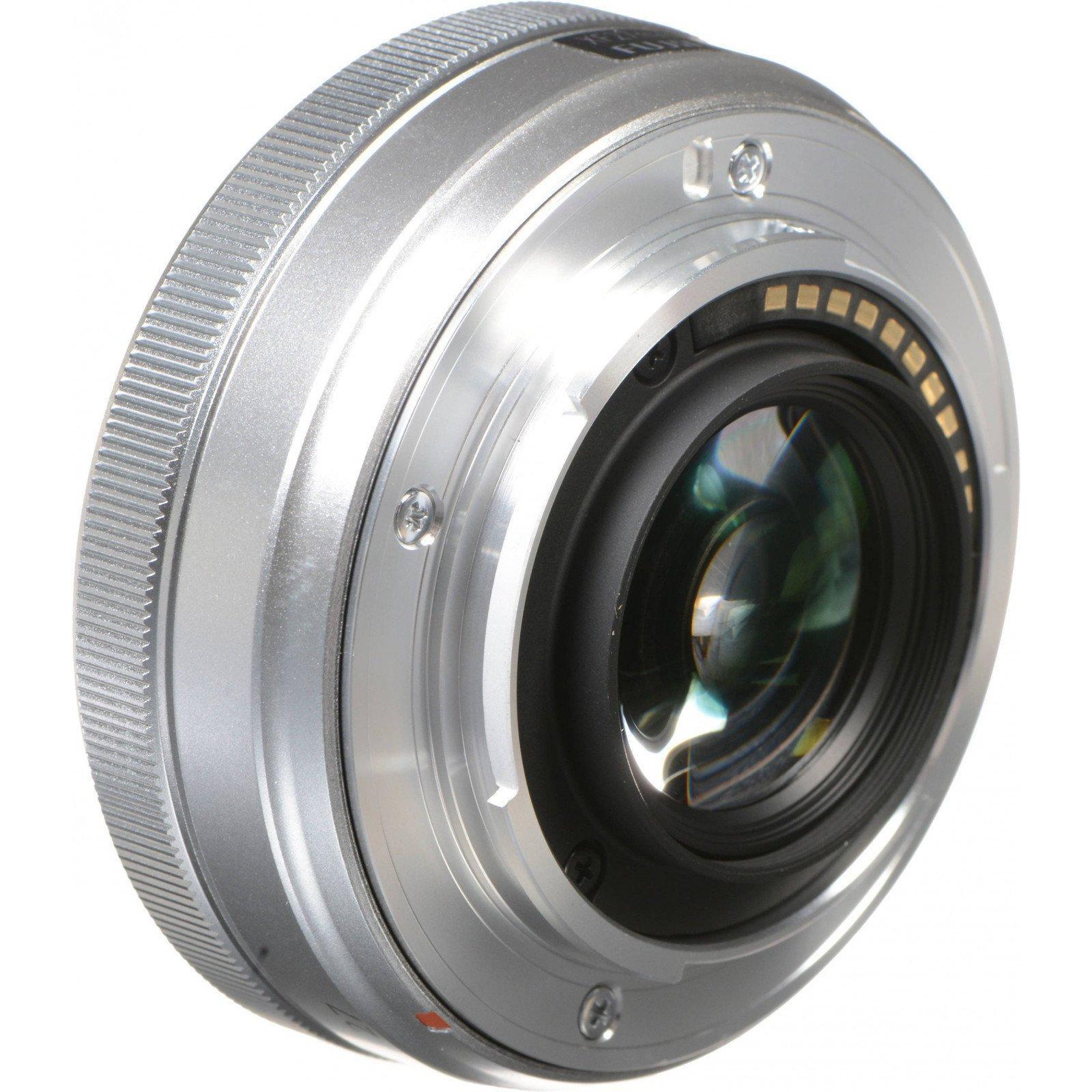 Объектив Fujifilm XF 27mm F2.8 Silver (16537718) изображение 2