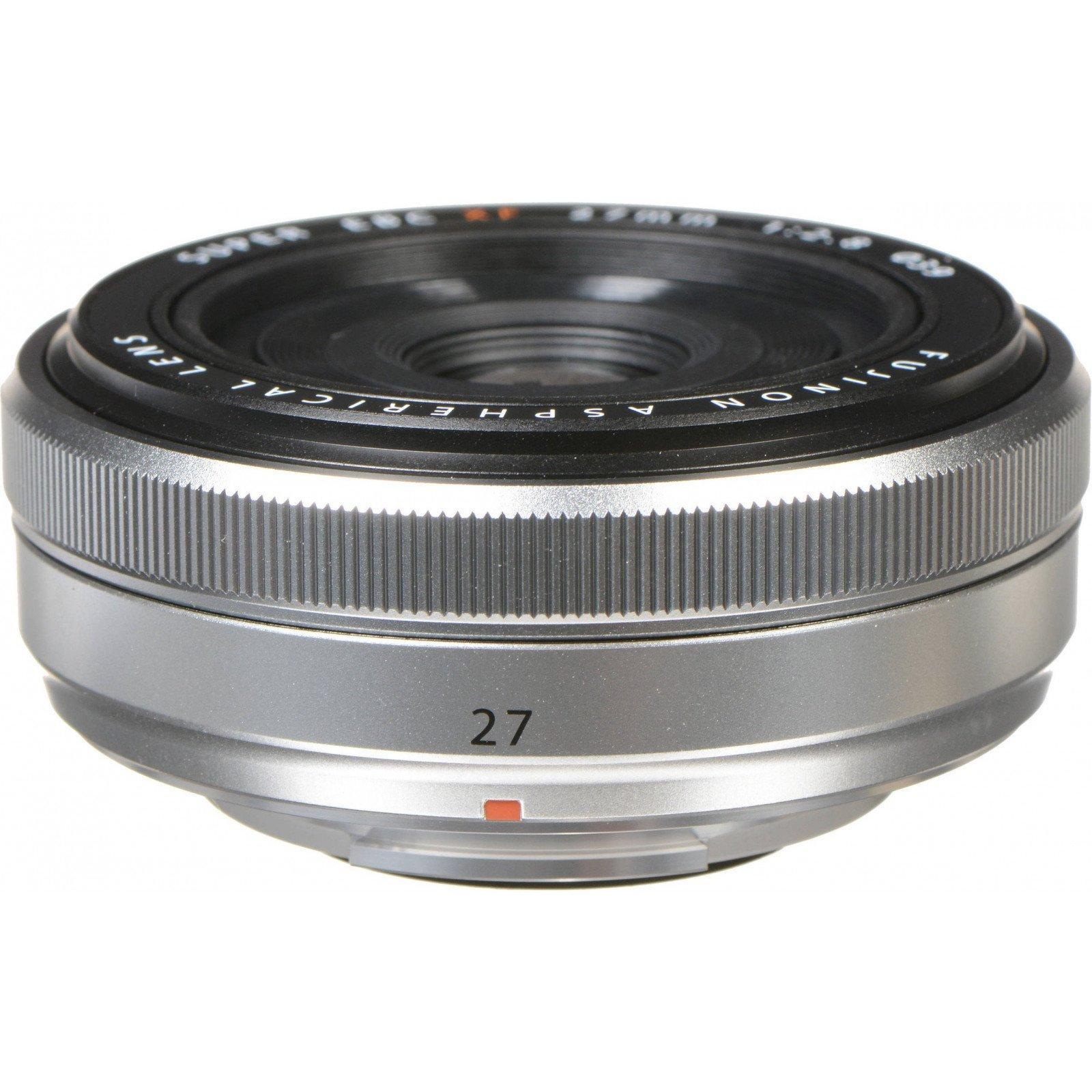 Объектив Fujifilm XF 27mm F2.8 Silver (16537718) изображение 3