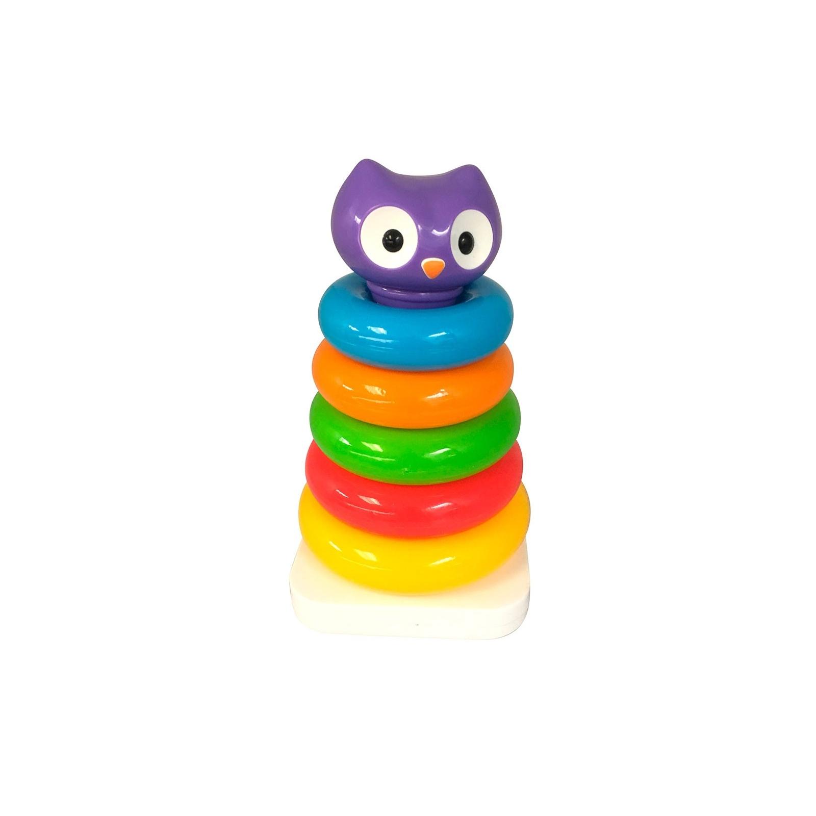 Развивающая игрушка Kiddieland Сова Пирамидка (057901)