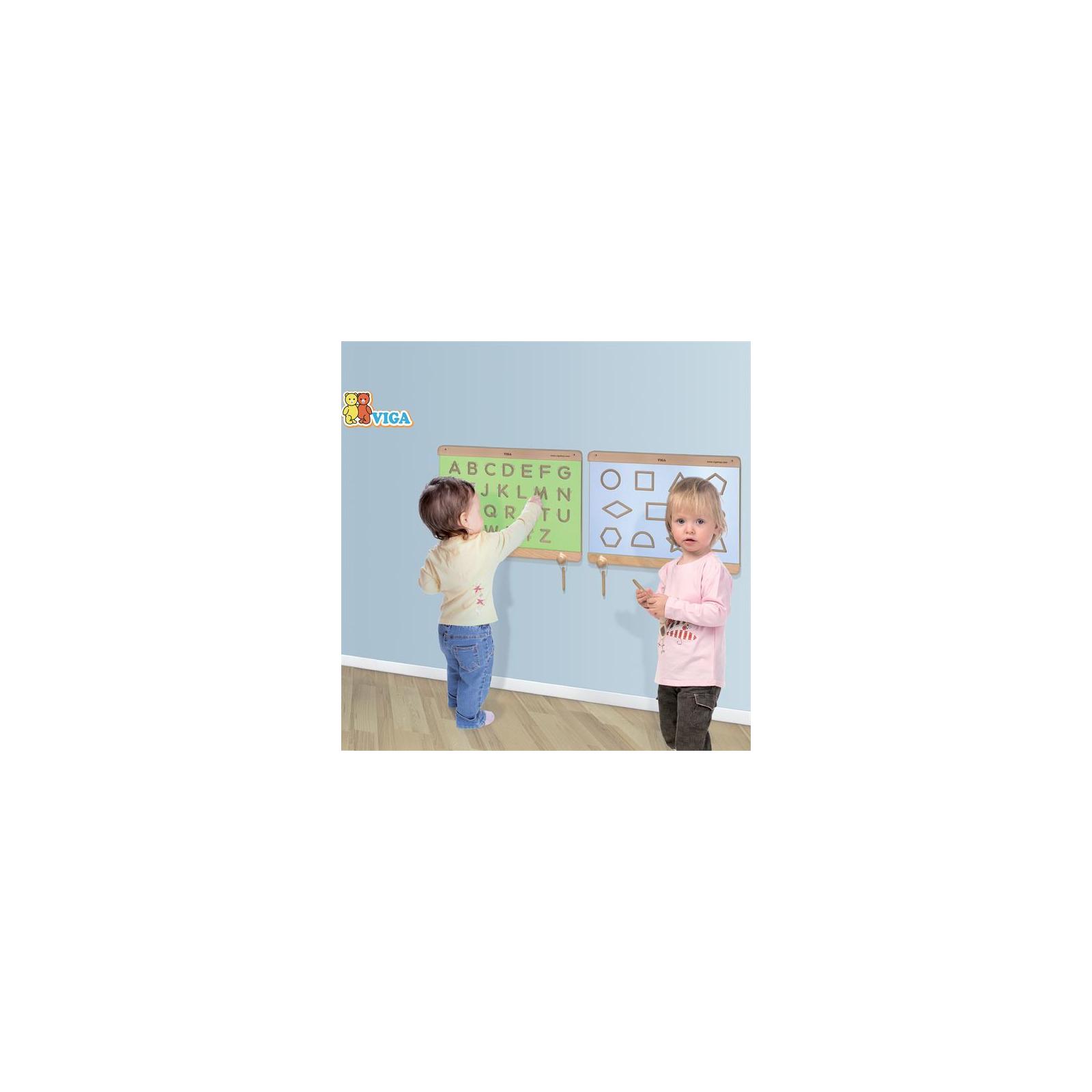 Навчальний набір Viga Toys Написання заголовних букв (50857) зображення 2