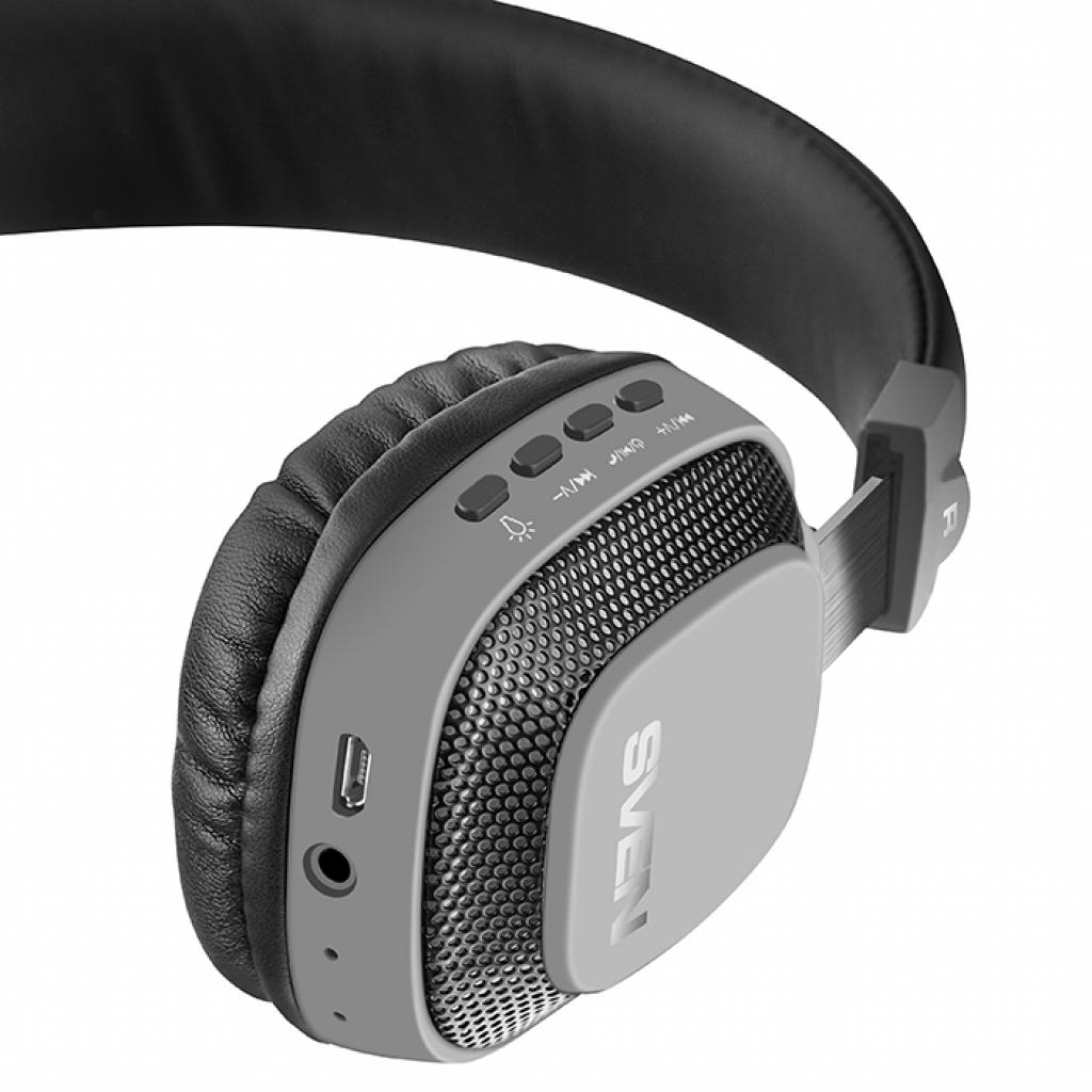 Наушники Sven AP-B510MV Black Bluetooth (AP-B510MV black) изображение 6
