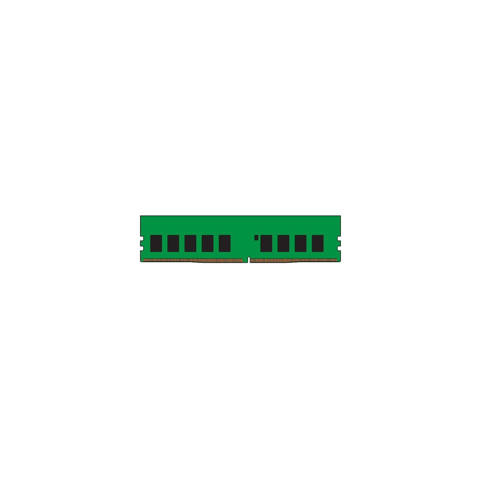 Модуль памяти для сервера DDR4 32GB ECC UDIMM 3200MHz 2Rx8 1.2V CL22 Kingston (KSM32ED8/32ME)