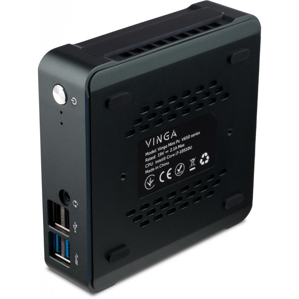 Компьютер Vinga Mini PC V650 (V65010210U.32512WH) изображение 2