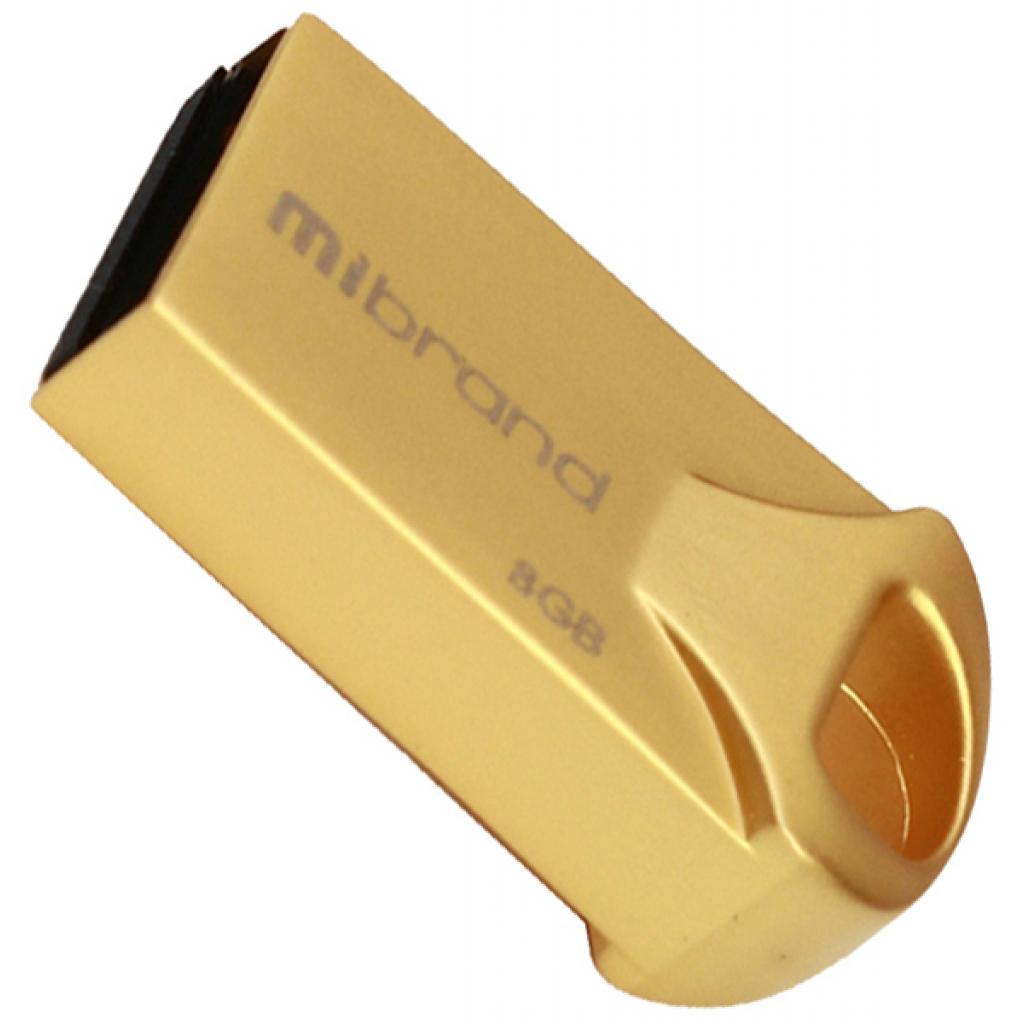 USB флеш накопитель Mibrand 16GB Hawk Gold USB 2.0 (MI2.0/HA16M1G)