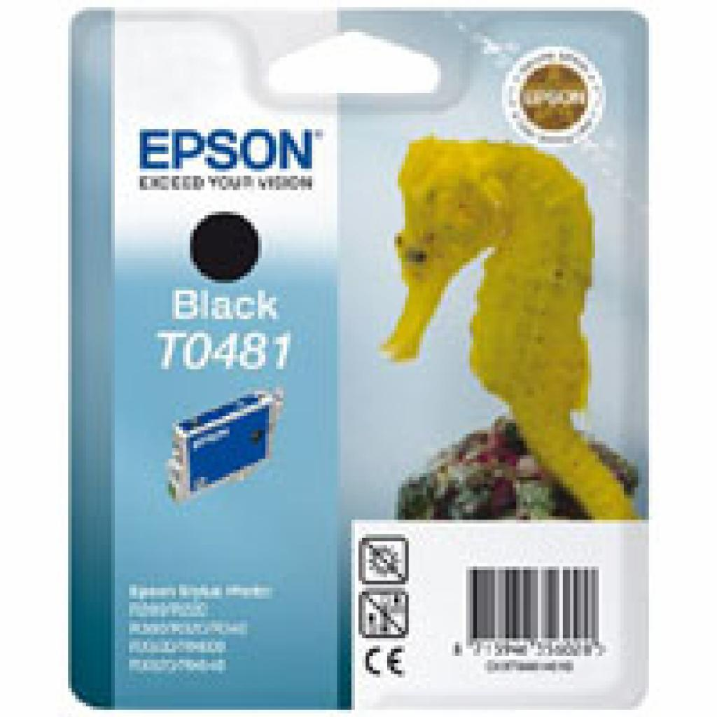 Картридж EPSON R200/320 RX500/600 Black (C13T04814010)