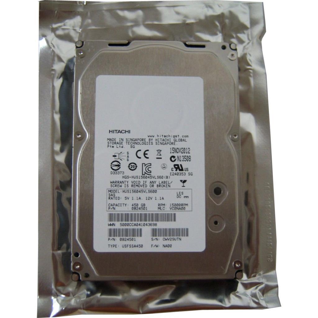 Жесткий диск для сервера 450GB Hitachi HGST (0B23662 / HUS156045VLS600)