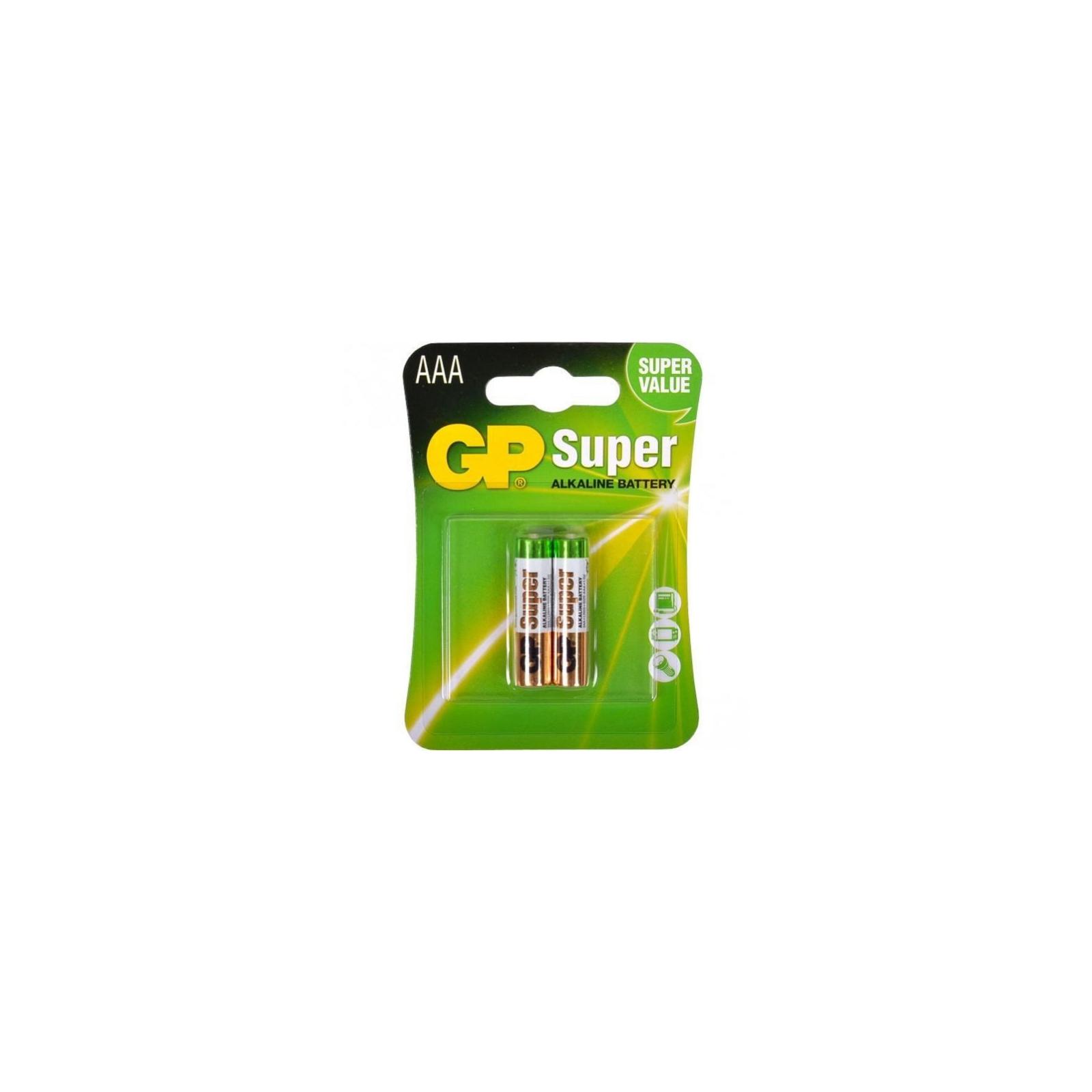 Батарейка AAA LR3 Super Alcaline * 2 GP (GP24A-2UE2)