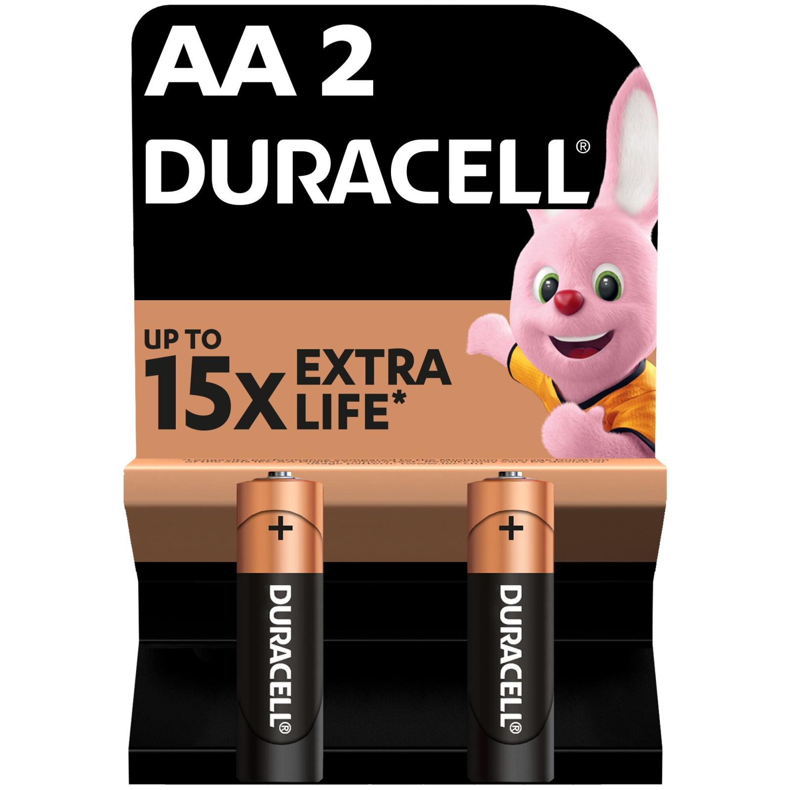 Батарейка AA MN1500 LR06 * 2 Duracell (5000394058163 / 81551267)