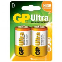 Батарейка D GP Ultra LR20 * 2 GP (13AU-U2/13AU-UE2)
