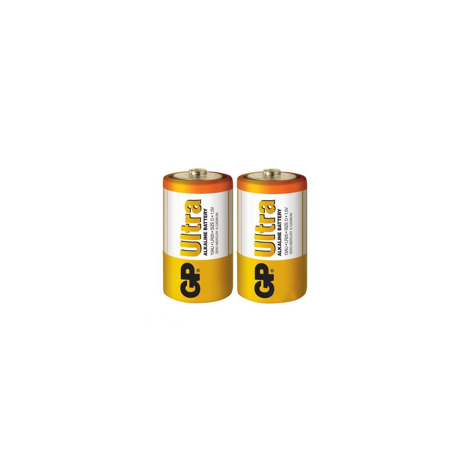 Батарейка Gp D GP Ultra LR20 * 2 (13AU-U2/13AU-UE2) изображение 2