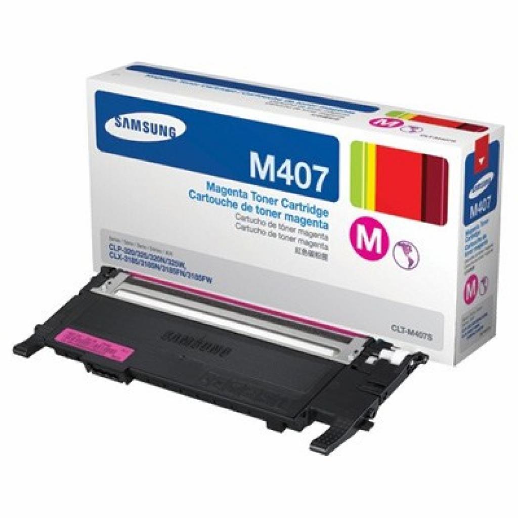 Картридж Samsung CLP-320 Magenta (CLT-M407S)