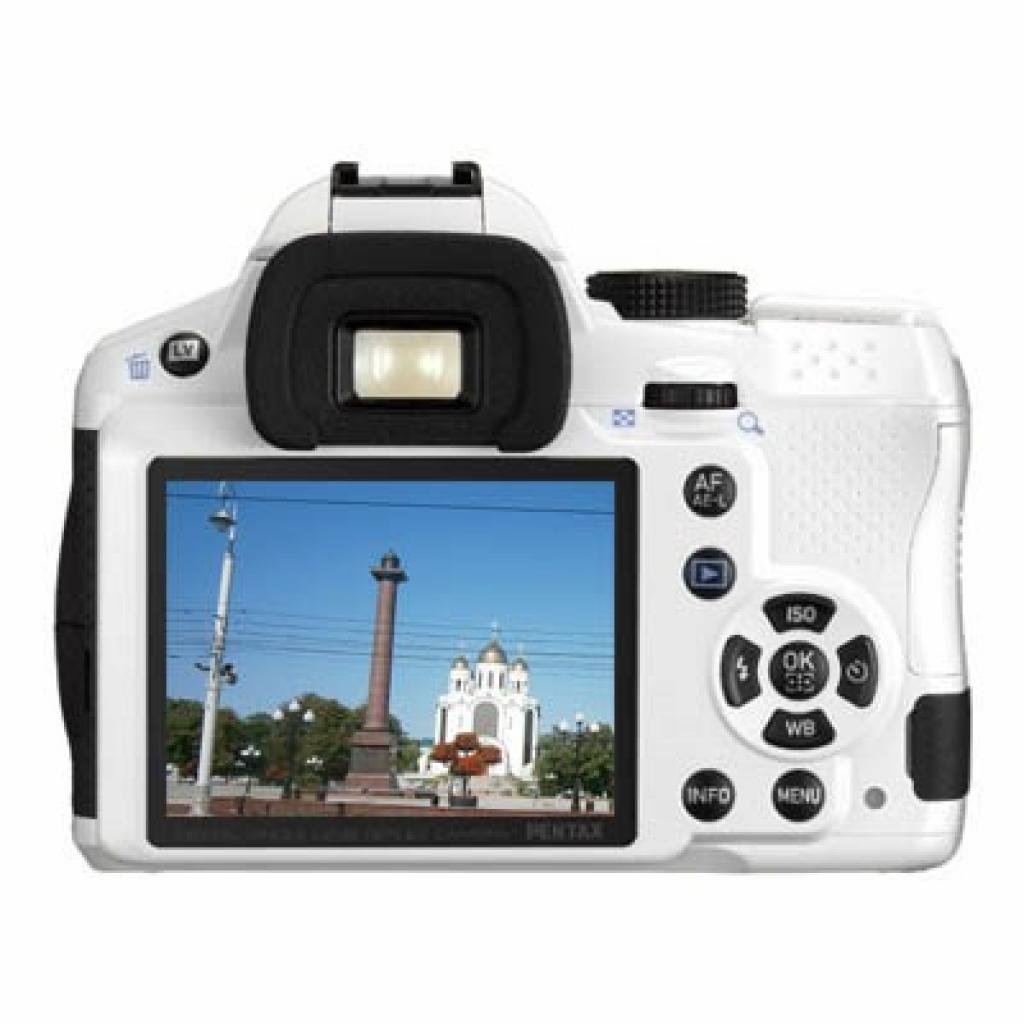 Цифровой фотоаппарат Pentax K-30 white + DA 18-55mm WR (15723) изображение 2