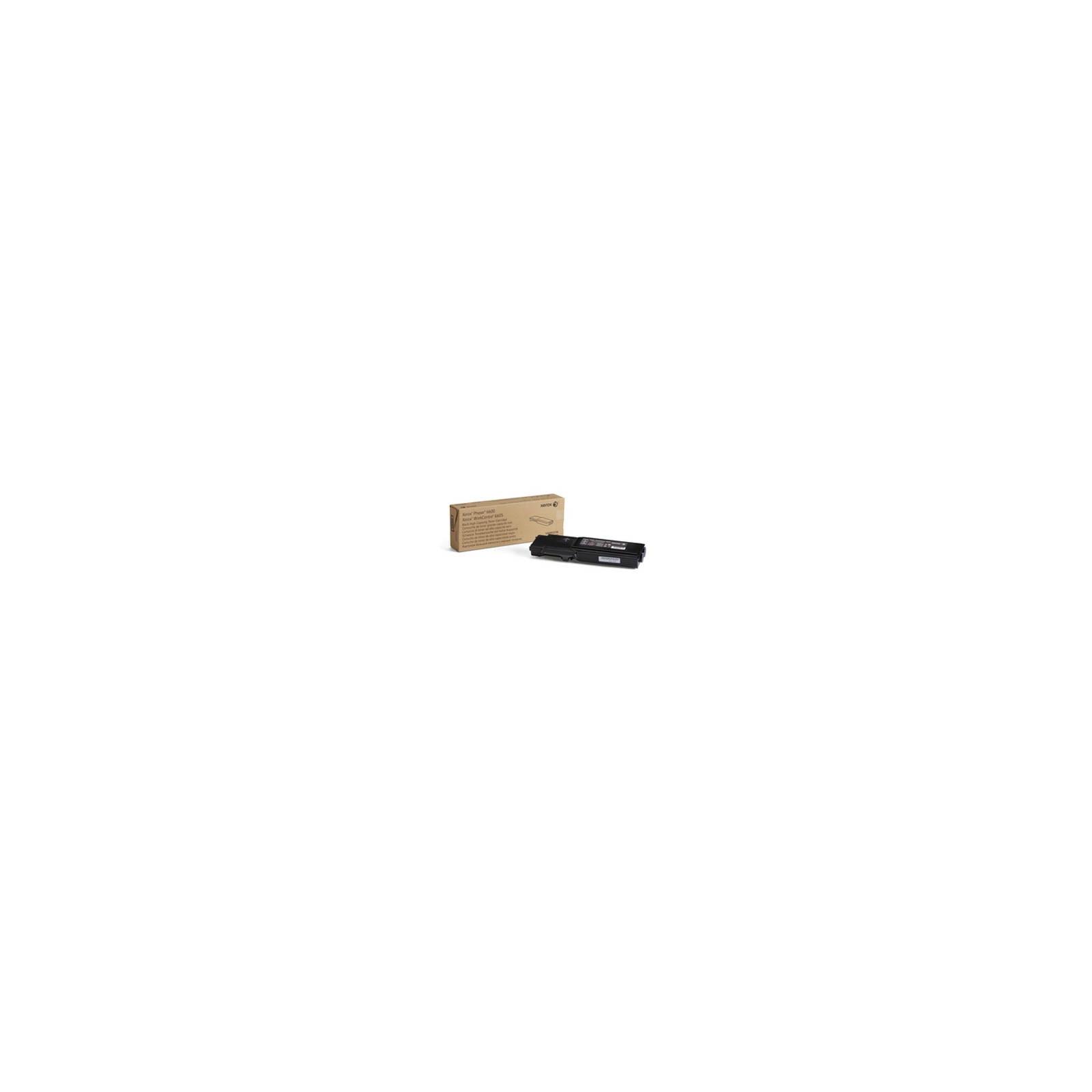 Тонер-картридж XEROX PH6600/ WC6605 Black (106R02252)