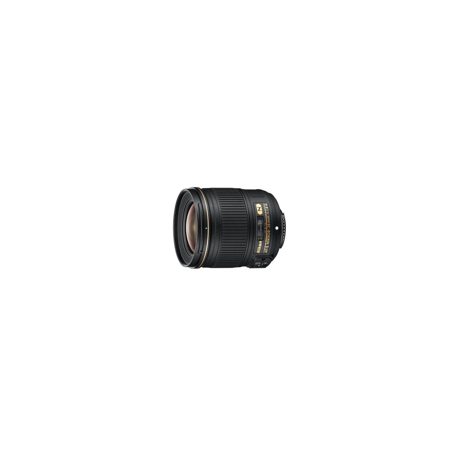 Объектив Nikon Nikkor AF-S 28mm f/1.8G (JAA135DA)