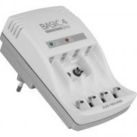 Зарядний пристрій для акумуляторів Ansmann Basic 4 plus 4*AA/AAA (5107343)