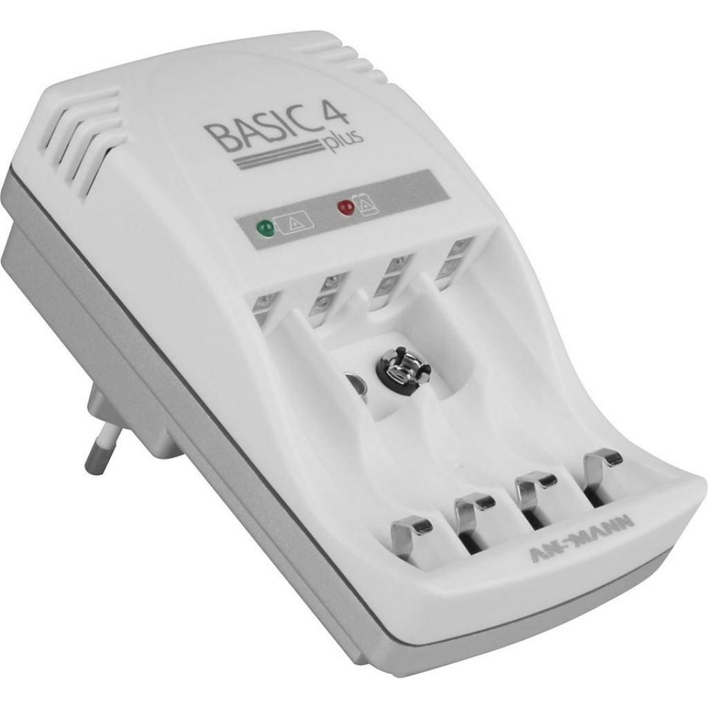 Зарядное устройство для аккумуляторов Ansmann Basic 4 plus 4*AA/AAA (5107343)