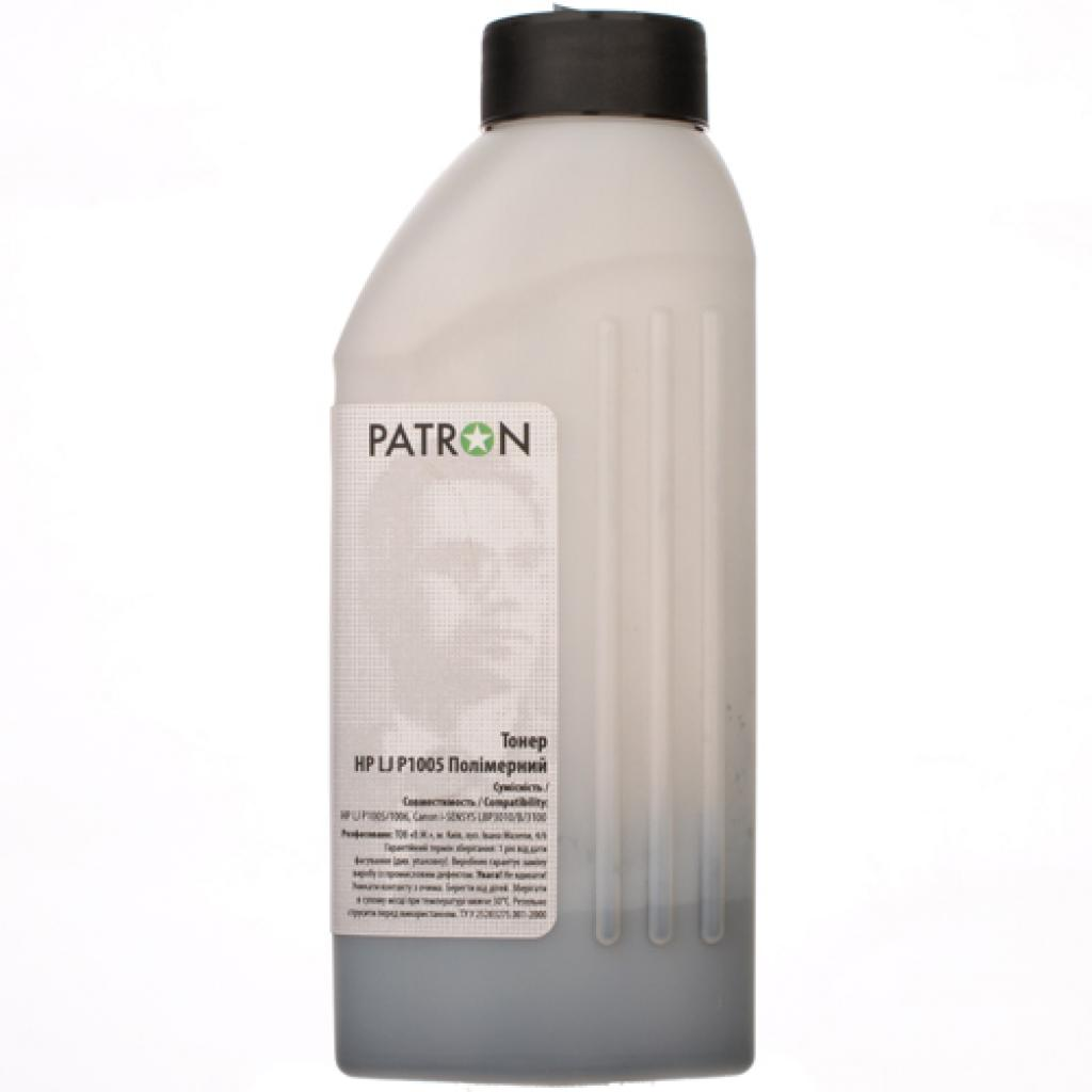 Тонер PATRON HP LJ P1005 Polymer 85г (PN-HLJP1005-P-085) изображение 2