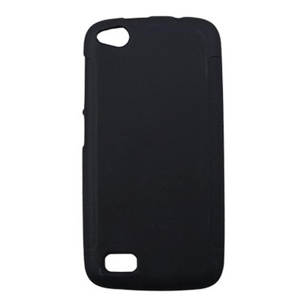 Чехол для моб. телефона Drobak для Fly IQ4410 /Elastic PU/Black (214733)