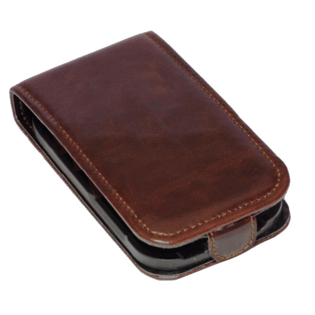 Чехол для моб. телефона KeepUp для LG Optimus L3 (E425) Brown/FLIP (00-00009284) изображение 3