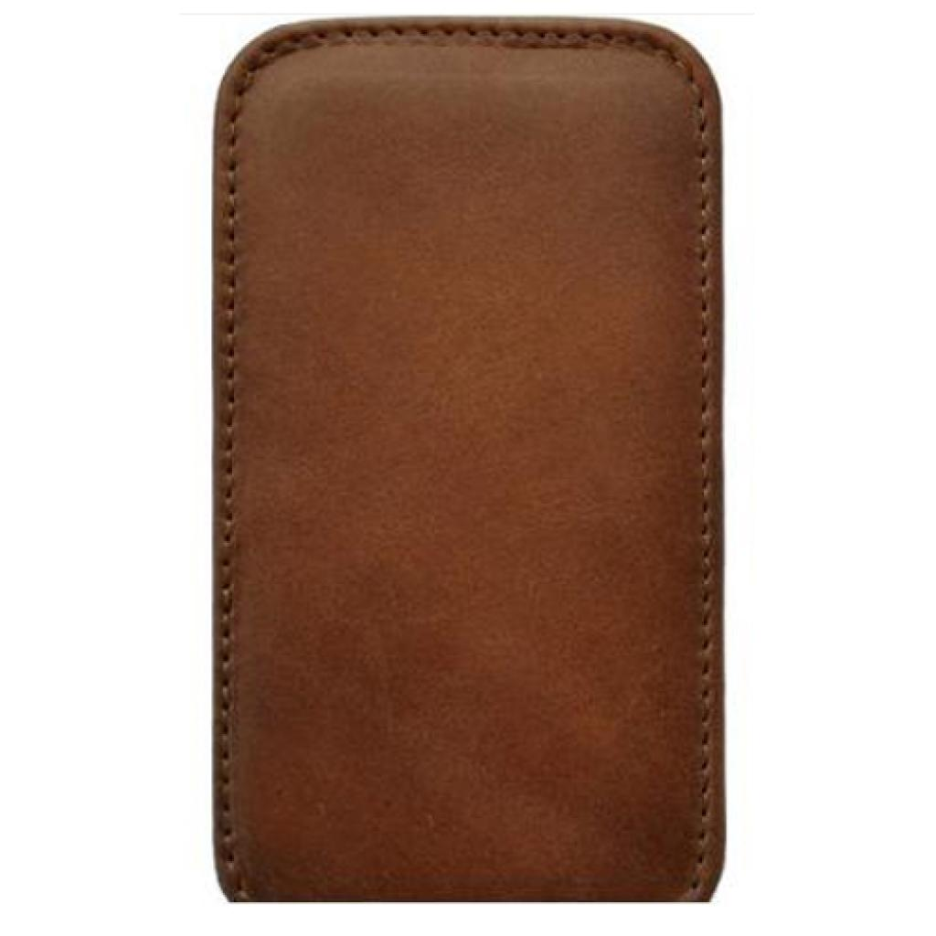 Чехол для моб. телефона KeepUp для LG Optimus L3 (E425) Brown/FLIP (00-00009284)