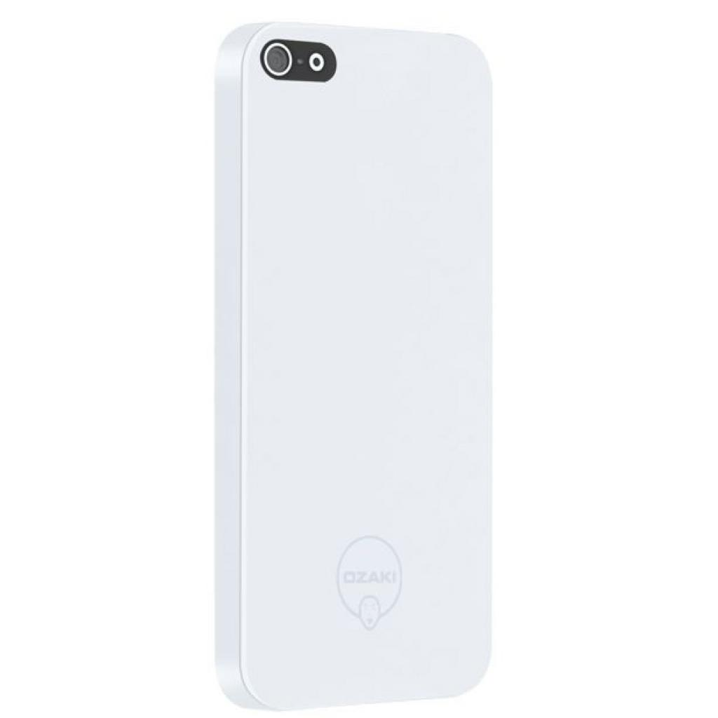 Чехол для моб. телефона OZAKI iPhone 5/5S O!coat 0.3 SOLID/White (OC530WH)