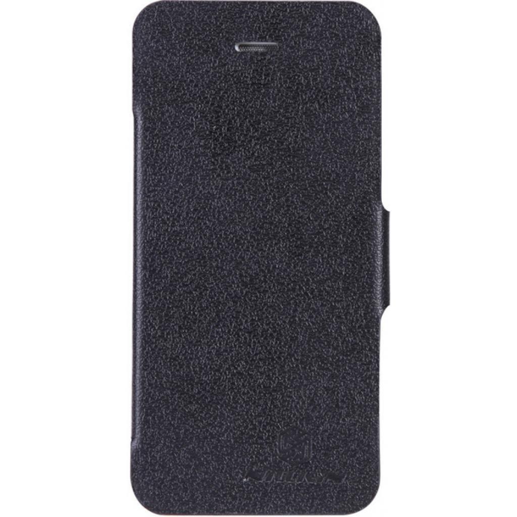 Чехол для моб. телефона NILLKIN для iPhone 5 /Fresh/ Leather/Black (6065678)