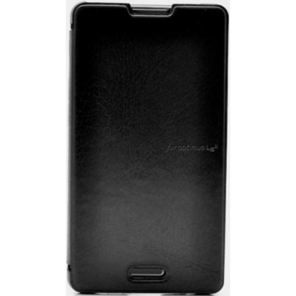 Чехол для моб. телефона VOIA для LG E450 Optimus L5II /Flip/Black (6068227)