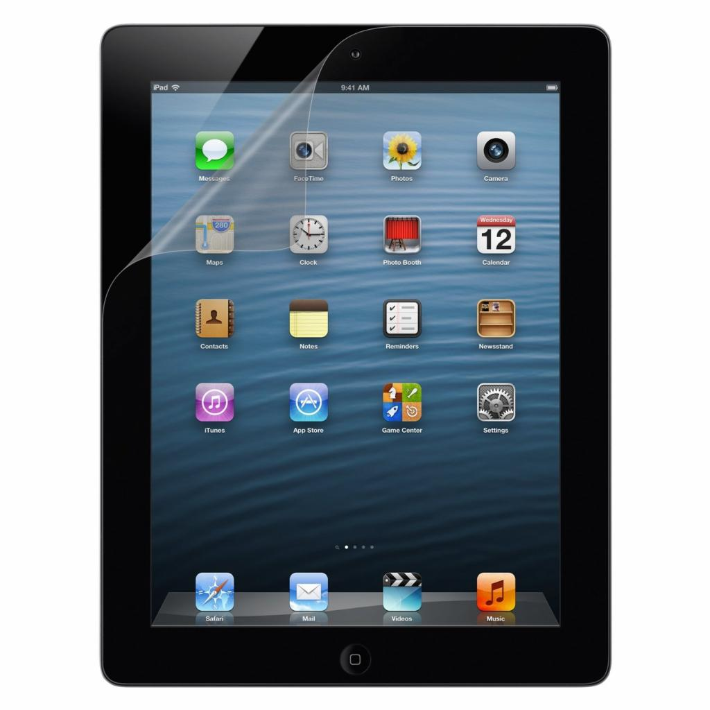 Пленка защитная Belkin iPad Air Screen Overlay ANTI-SMUDGE (F7N079vf) изображение 2