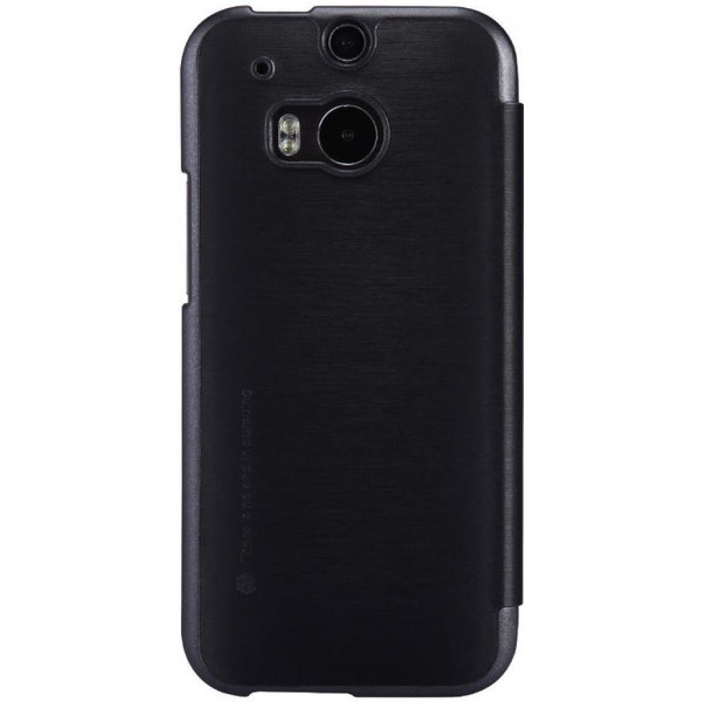 Чехол для моб. телефона для HTC ONE (M8) /Rain Leather Case/Black NILLKIN (6138252) изображение 2